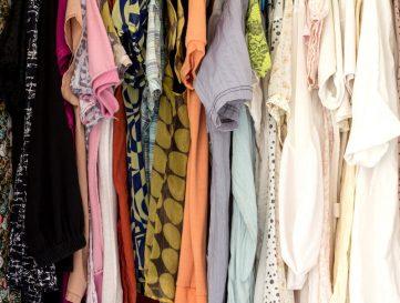 tijd voor een nieuwe garderobe