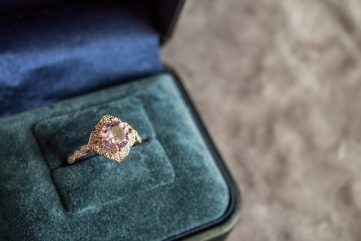 vintage diamanten ring